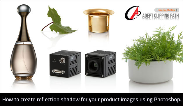 create reflection shadow for your product images using Photoshop